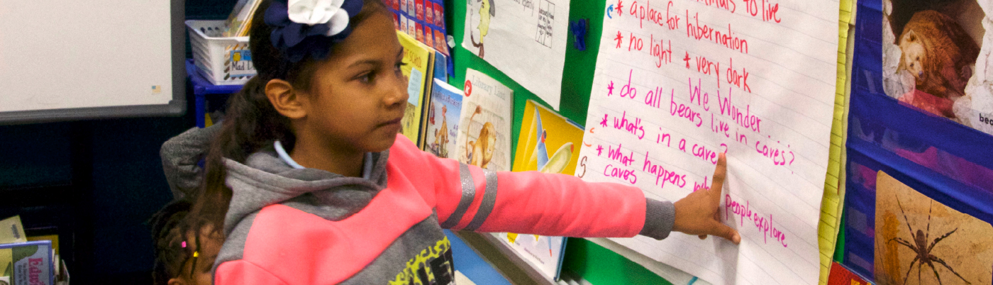 children learning to read in classroom settings